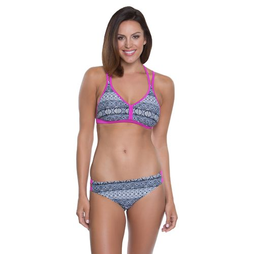 BCG Women's Lava Lounge Bralette Swim Top