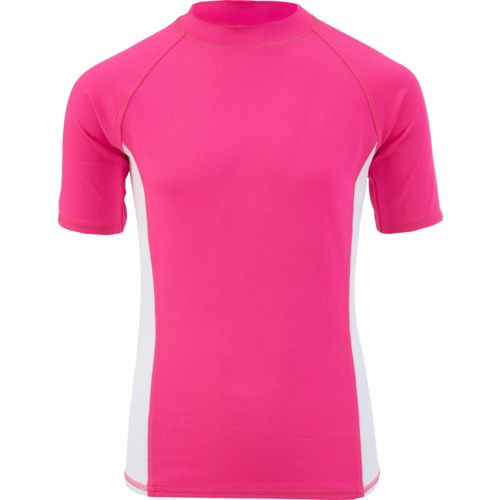 O'Rageous Girls' Raglan Short Sleeve Rash Guard - view number 3