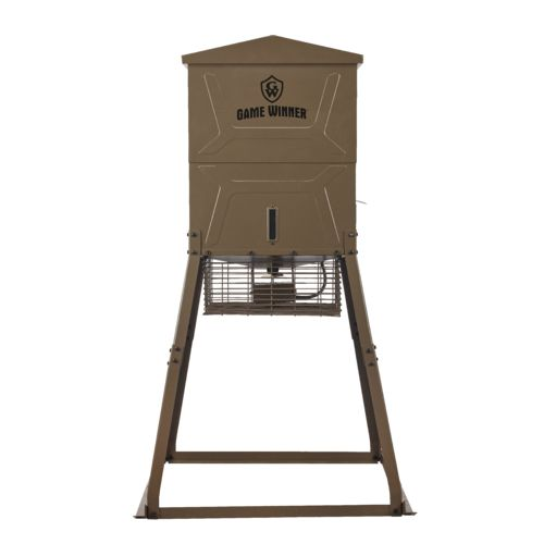 Display product reviews for Game Winner 600 lb Cube VP Deer Feeder