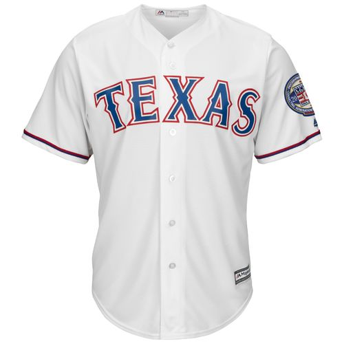 Majestic Men's Texas Rangers Ivan Rodriguez 7 Hall of Fame 2017 Jersey - view number 2