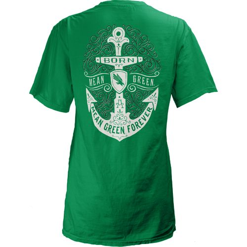 Three Squared Juniors' University of North Texas Anchor Flourish V-neck T-shirt