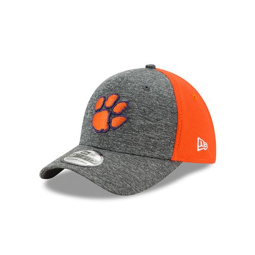 New Era Men's Clemson University Shadow Blocker 39THIRTY Cap