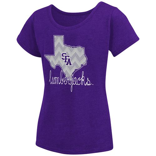 Colosseum Athletics™ Girls' Stephen F. Austin State University Tissue 2017 T-shirt