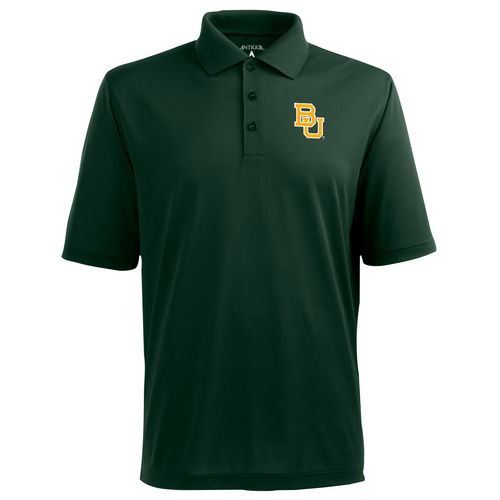 Antigua Men's Baylor University Pique Xtra-Lite Polo Shirt