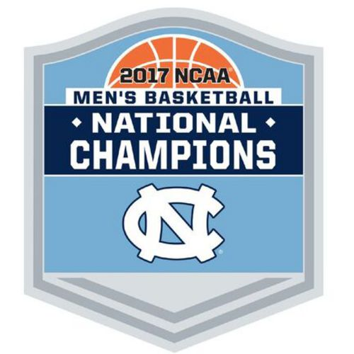 WinCraft University of North Carolina 2017 NCAA Men's Basketball National Champions Pin