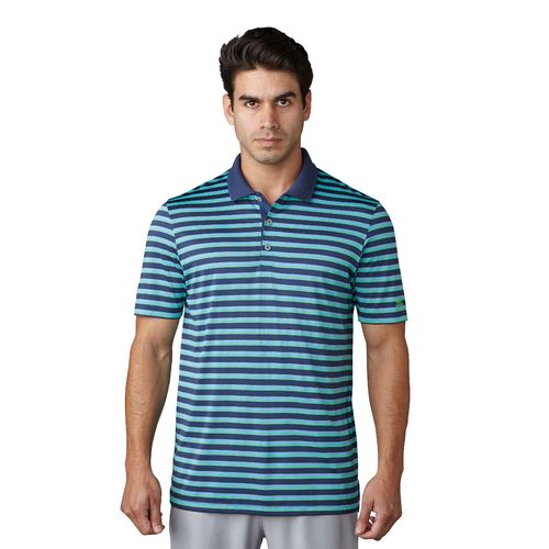 adidas Men's Club Merch Stripe Polo Shirt