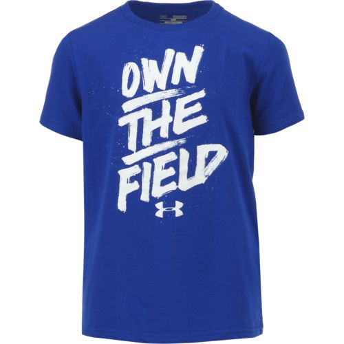 Under Armour Boys' Own the Field Short Sleeve T-shirt - view number 1