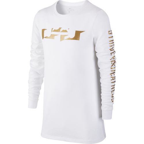 Nike Boys' Dry LeBron Long Sleeve T-shirt