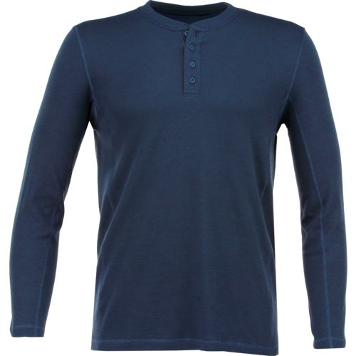 Magellan Outdoors Men's Base Camp Thermal Long Sleeve Henley Shirt