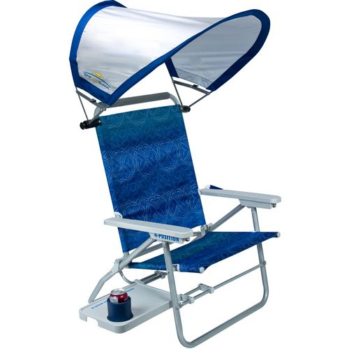 GCI Outdoor Waterside Big Surf Chair with SunShade - view number 1
