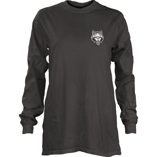 Three Squared Juniors' Arkansas State University Tower Long Sleeve T-shirt - view number 2