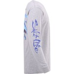 Salt Life Men's Mako Sushi Long Sleeve T-shirt - view number 4