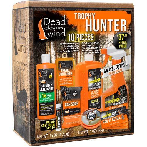 Display product reviews for Dead Down Wind Trophy Hunter Scent Elimination Kit