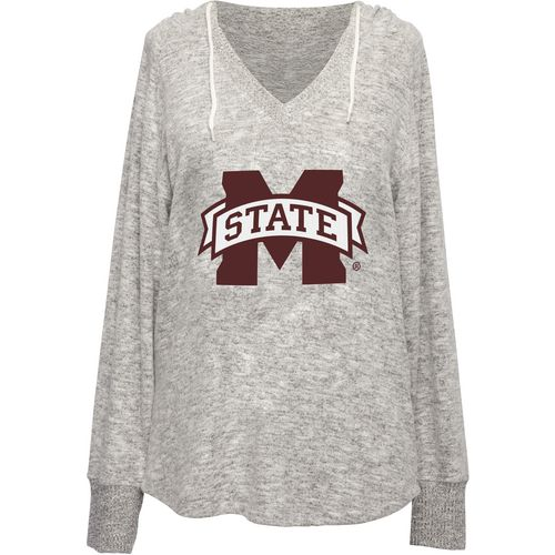 Chicka-d Women's Mississippi State University V-neck Hoodie