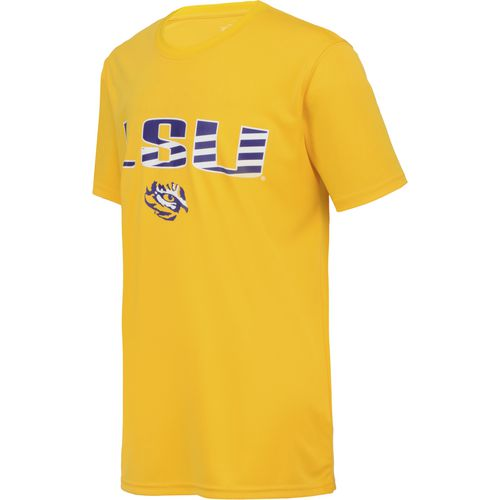 Colosseum Athletics Boys' Louisiana State University Team Stripe T-shirt - view number 3