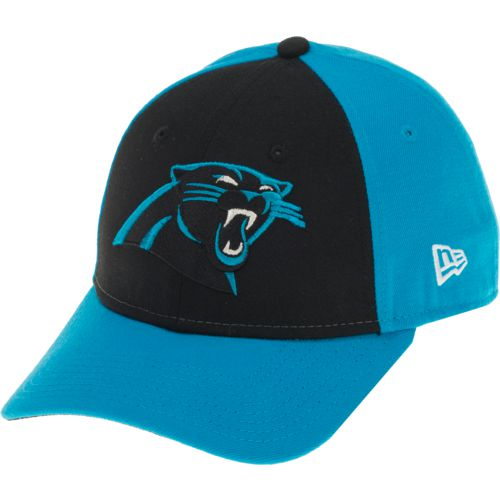 New Era Men's Carolina Panthers 9FORTY The League Blocked Cap - view number 2