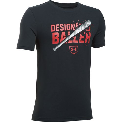 Under Armour Boys' Designated Baller Short Sleeve T-shirt