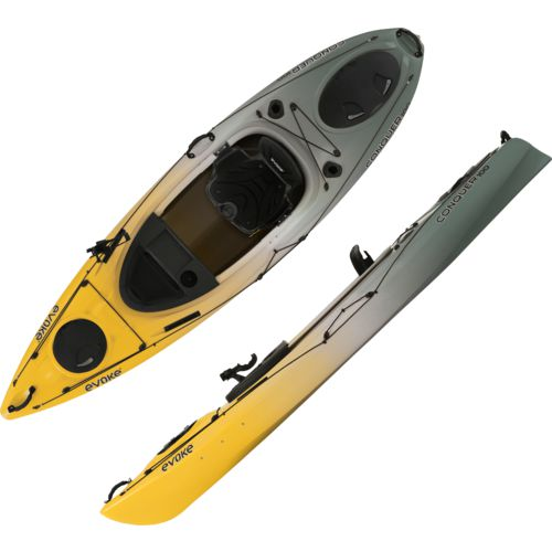 Evoke Conquer 100 10 ft Sit-In Fishing Kayak - view number 1