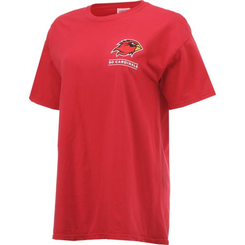 New World Graphics Women's Lamar University Comfort Color Puff Arch T-shirt - view number 3