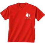 New World Graphics Women's University of Louisville Terrain State T-shirt - view number 2