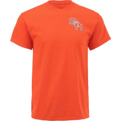New World Graphics Men's Sam Houston State University Stripe Nation T-shirt