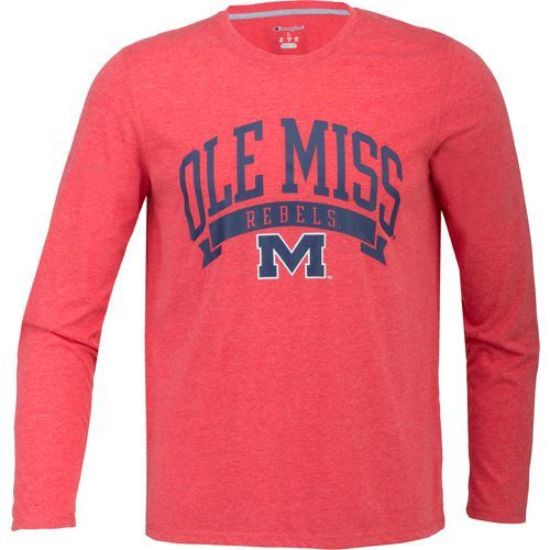 Champion Men's University of Mississippi In Pursuit Long Sleeve T-shirt