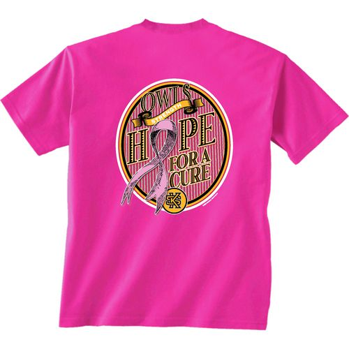 New World Graphics Women's Kennesaw State University Breast Cancer Hope T-shirt