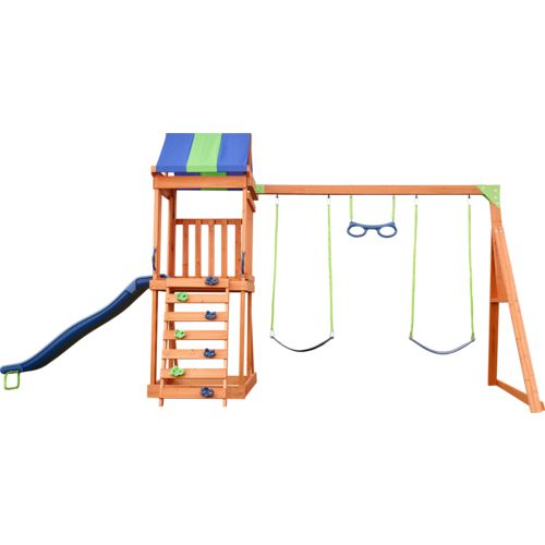 Display product reviews for Denver Wooden Swing Set