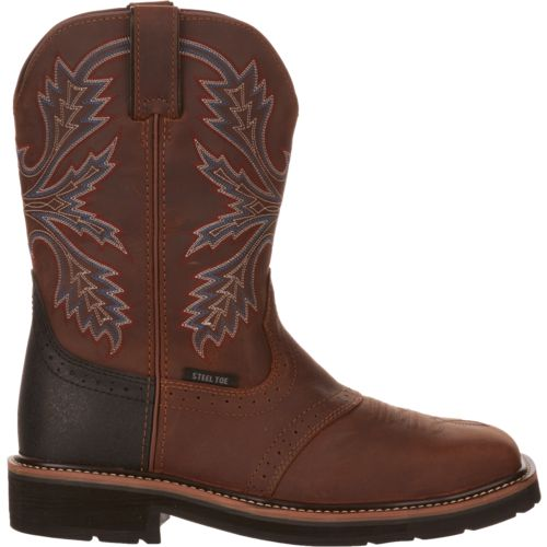 Display product reviews for Brazos Men's Bandero 2.0 Steel Toe Work Boots