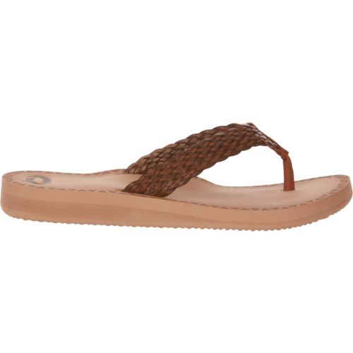 Display product reviews for O'Rageous Women's Braid II Flip-Flops