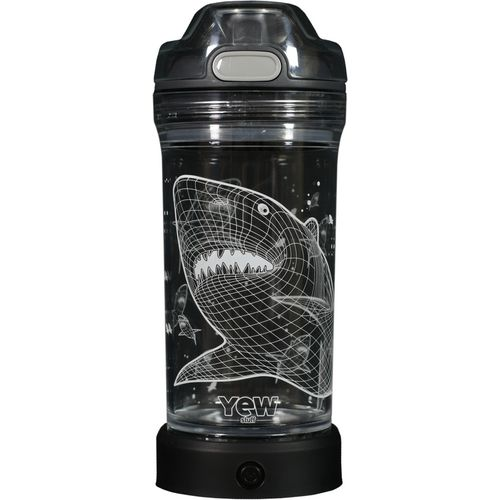 Yew Stuff Pop Lights Shark 14 oz Bottle