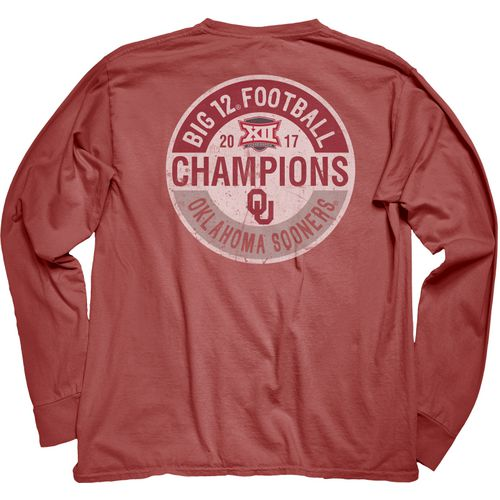 Blue 84 Women's Oklahoma Big 12 Champs Long Sleeve T-Shirt