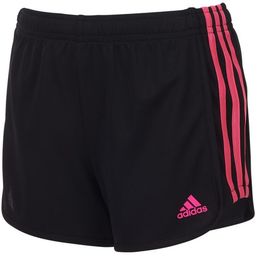 adidas Toddler Girls' 3-Stripes Mesh Short