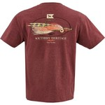 Southern Heritage Men's Redfish Fly T-shirt - view number 3
