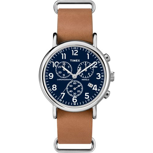 Timex Adults' Weekender Full-Size Chronograph Watch