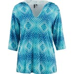 Porto Cruz Women's Pool Party 3/4-Length Sleeve Hooded Cover-Up Tunic - view number 3