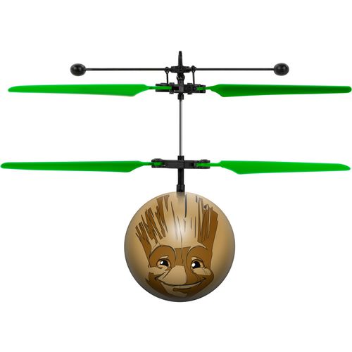 World Tech Toys Marvel Licensed Guardians of the Galaxy Baby Groot IR UFO Ball Helicopter - view number 1