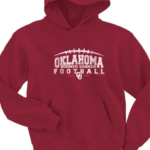 New World Graphics Youth University of Oklahoma Hoodie