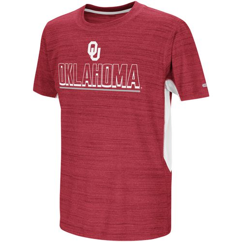Colosseum Athletics Boys' University of Oklahoma Over the Fence T-shirt