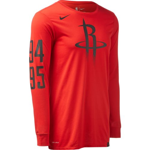 Nike Men's Houston Rockets Dry EXP LGY T-shirt
