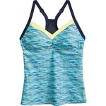 Gerry Women's Code Mesh Block Tankini Swim Top - view number 1