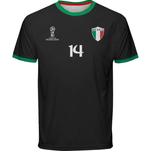 Fifth Sun Men's Mexico World Cup Russia 2018 Los Ultras Performance Jersey