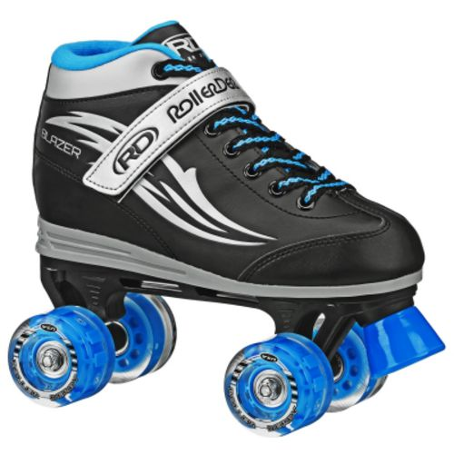 Display product reviews for Roller Derby Boys' Blazer Lighted Wheels Roller Skates