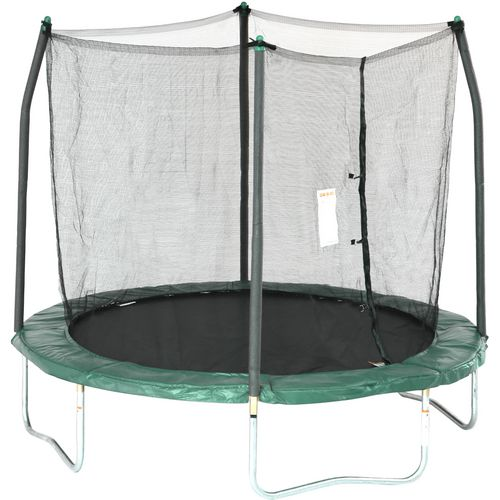 Display product reviews for Skywalker Trampolines 8' Round Trampoline with Enclosure