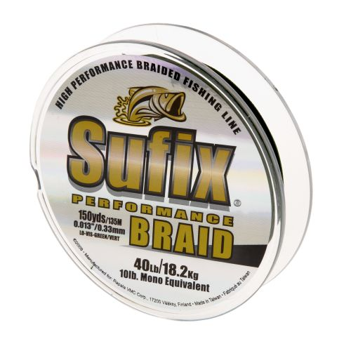Sufix® Performance 40 lb. - 150 yards Braided