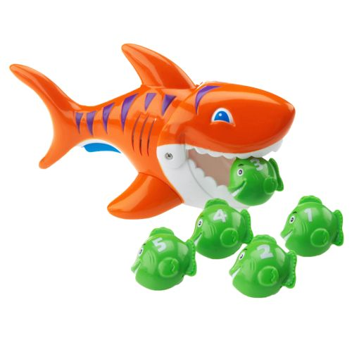 Image for SwimWays Gobble Gobble Guppies Game from Academy
