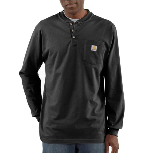 Image for Carhartt Men's Long Sleeve Workwear Henley from Academy