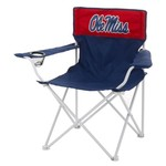 Logo University of Mississippi Canvas Chair