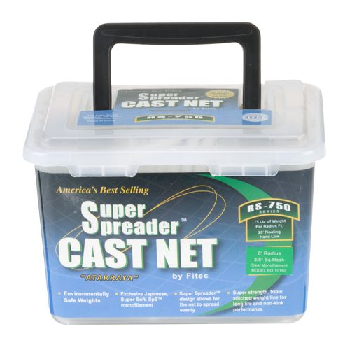 Fitec RS750 Series Super Spreader 6 ft Cast Net - view number 2