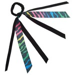 Soffe Rainbow Zebra Ribbon Scrunch